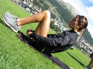 Anna Incerti stage St.Moritz Olimpiadi Londra 2012