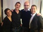 Anna Incerti, Stefano Scaini, Fabio Carini, Cristiano Ros per RUN FOR FUV