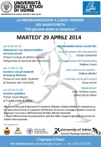 Anna Incerti, Stefano Scaini e Stefano Baldini Udine 29.04.14